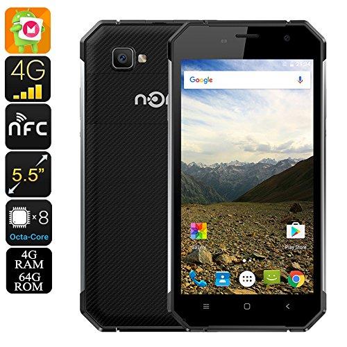 Nomu S30 Rugged Smartphone - IP68, Gorilla Glass 4, 2.0GHz CPU, 4GB RAM, OTG, 5000mAh Battery (Silver)