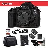 Canon EOS 5D Mark IV Full Frame Digital SLR Camera Body Bundle with 32GB Memory Card International Version