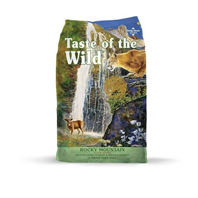 Taste of the Wild Grain Free High Protein Real Meat Recipe Rocky...
