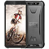 Rugged Unlocked Cell Phones, Blackview BV5500 Pro 4G Smartphones IP68 Waterproof Drop Proof, 5.5' 3GB+16GB Dual SIM [Quad Core] Android 9.0 4400mAh Battery and Face ID Mobile Phones, Black