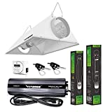 VIVOSUN Hydroponic 1000 Watt HPS MH Grow Light Air Cooled Reflector Kit - Easy to Set up, High Stability & Compatibility (Enhanced Version)