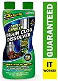 DISSOLVE Liquid Hair & Grease Clog Remover | Drain Opener | Drain cleaner | Toilet Clog Remover, 31 oz