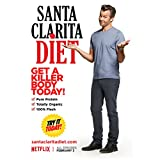 Timothy Olyphant 8 Inch x10 Inch Photograph Santa Clarita Diet (TV Series 2017 - ) Standing Arms Out Title Poster kn