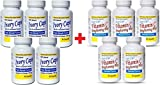 (Pack of 5) Ivory Caps Skin Whitening Lightening 1500mg Glutathione Support Pill + Vitamin C Brightening Plus