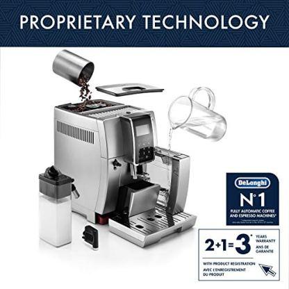 DeLonghi-ECAM35075SI-Dinamica-with-LatteCrema-Fully-Automatic-Espresso-Machine-Silver