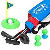Best Choice Products 13-Piece Kids Golf Set with 3 Clubs, 3 Balls, Tees, and Bag, Multicolor