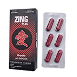 New Black Zingplus Premium Male Enhancement Supplement 6PK Pills (1)