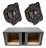 Kicker 11S15L72 Solobaric L7 Subwoofer Dual 15' Vented Sub Enclosure Box New
