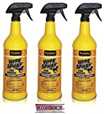 Product review for PYRANHA Wipe N Spray Fly Protection Spray For Horses Kills Mosquitoes Flies 3 PACK