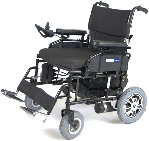 Wildcat 450 Heavy Duty Folding Power Wheelchair 20' Seat