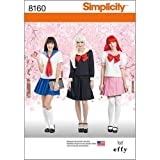 Simplicity Creative Patterns 8160 Effy Sews Cosplay Misses' Costume, R5 (14-16-18-20-22)