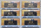 NEW Trader Joe's Milk Chocolate Candy Bars 6 PACK (18 candy bars total) NO ARTIFICIAL FLAVORS/COLORS NO PRESERVATIVES