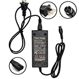 Wyness Battery Charger 100-240V 50/60Hz Power Supply for Electric Scooter 8mm Plug 42V 2A