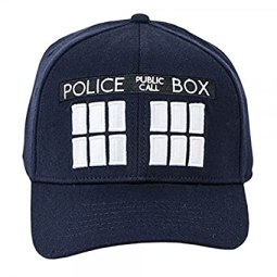 Doctor Who Tardis Navy Flex Hat Cap