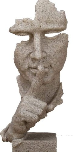 Abstract thinker bookend
