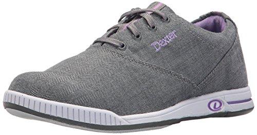Dexter Kerrie Bowling Shoes, Grey Twill, 7.0
