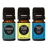 Exhale, Breathe Easier, Fighting Five Essential Oil (100% Pure, Undiluted Therapeutic/Best Grade) Premium Aromatherapy Oils by Edens Garden- 5 ml