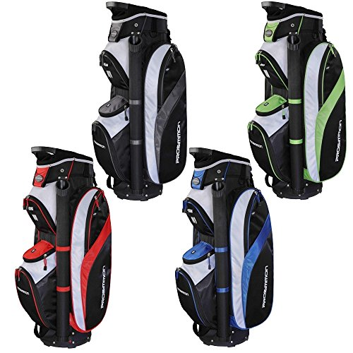 PROSiMMON Tour 14 Way Cart Golf Bag Black/Blue