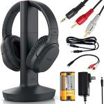 Sony-Wireless-Headphones-for-TV-Watching-WHRF400R-with-Transmitter-Dock-TMRRF400--6-ft-35mm-Stereo-NeeGo-RCA-Plug-Y-Adapter-for-TV