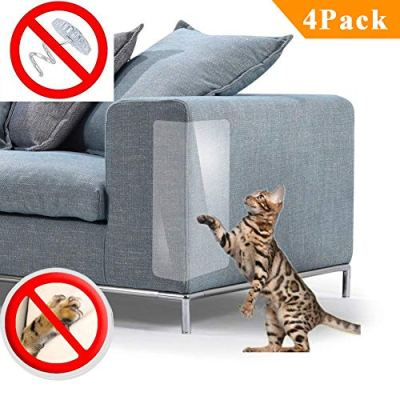 PetIsay Plastic Couch Cover for Pets Cat Scratching Protector...