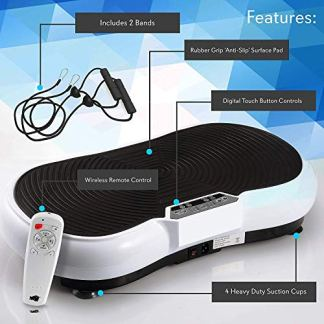 Health-FitnessHub-Vibration-Platform-Workout-Machine-Exercise-Equipment-for-Home-Vibration-Plate-Balance-Your-Weight-Workout-Equipment-Includes-Remote-Control
