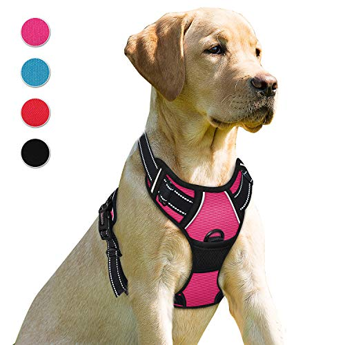 BARKBAY No Pull Dog Harness Front Clip Heavy Duty Reflective Easy Control Handle...