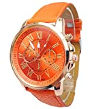 Product review for AmyDong Women's Stylish Numerals Faux Leather Quartz Watch