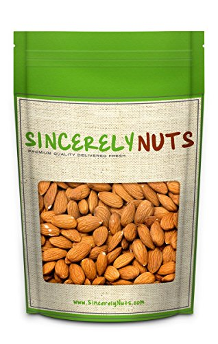 Sincerely Nuts Raw Pecans No Shell - Three (3) Lb. Bag - Eaten Fresh -Remarkably Delicious & Cute-Looking - Rich in Healthy Nutrients - Kosher