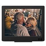 Nixplay Edge 8-Inch Wi-Fi Cloud Digital Photo Frame with Hi-Res Display