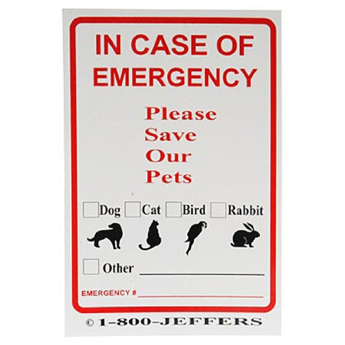 Emergency Supplies Sticker