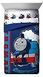 Mattel Thomas the Tank Engine Hot Rod Reversible Twin Comforter