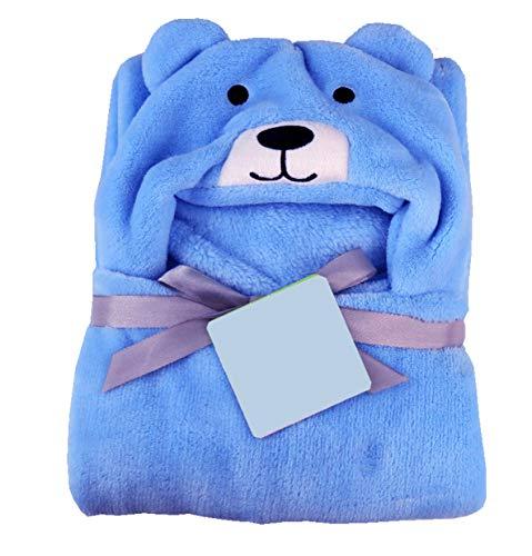 51BKHk1bFEL My New child Child Blanket Wrapper Bathtub Towel with Hood -Blue Pet