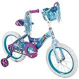 Huffy 16' Disney Frozen Girl Bike with Training Wheels Blue/Purple