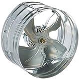 Broan 353 Gable Mount 120-Volt Powered Attic Ventilator, 1020 CFM
