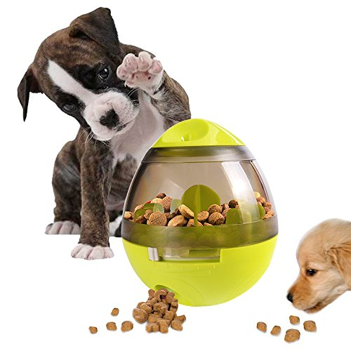 Treat Ball Dog Toy for Pet Increases IQ Interactive Food Dispensing Ball 1