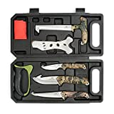MOSSY OAK Field Dressing Kit, Portable Butcher Game Processor Set (8-piece)