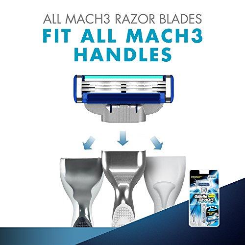 Gillette Mach 3 Turbo Manual Shaving Razor 24