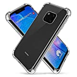 Vicstar Huawei Mate 20 Pro Case, Crystal Clear Soft Thin Anti-Scratches Cover for Huawei Mate 20 Pro (Transparent)