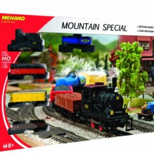 Mehano MEHANOT112 Mountain Special -Electric Train Set-Made in Slovenia, Multi Colour 51BV1stJ7jL