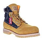 Levi's Harrison Men's Boots Buck Wheat/Denim 516435-11b (9.5 D(M) US)