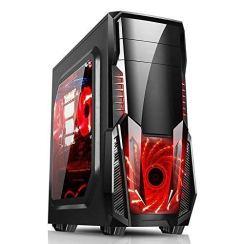 Electrobot Budget Gaming PC – Intel g4560-8GB RAM – 1TB HDD – GT 710 2GB, Gaming Cabinet with RGB Strip Light