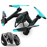 TEMI AG-01 RC Drone Quadcopter 2.4Ghz 6 Axis Gyro 4 Channel Remote Control Helicopter Kits Easy to Fly for Beginners Kids Adults, Without FPV WiFi HD Camera, Good Choice for Drone Training