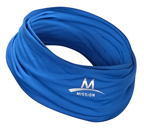 Mission Multi-Cool 12 in 1 Multifunctional Gaiter and Headwear Blue