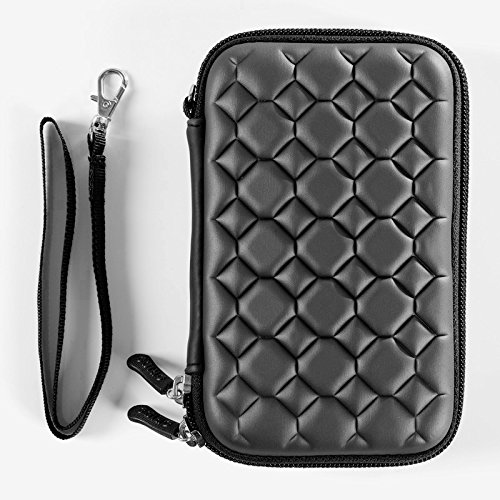 Alexvyan Shock Proof External Hard Disk Case Protector for 2.5 Inch Sony 1TB Wired USB 3.0 2.0 Hard Drive (Black Bubble) 3