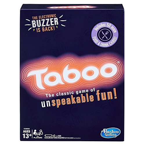 Taboo Party Board Game With Buzzer for Kids Ages 13 and Up (Amazon Exclusive)