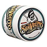 Suavecito Original Unscented Pomade- Medium Hold Styling Pomade for Men (4 oz)