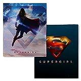 Warner Bros. Supergirl TV Series Logo Fleece Throw Blanket