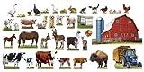 Animals on the Farm Bulletin Board Set by Trend Enterprises