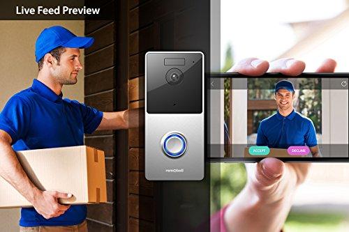 Video Doorbell With Motion Sensor