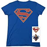 Supergirl TV Series Logo T Shirt & Stickers (X-Large)
